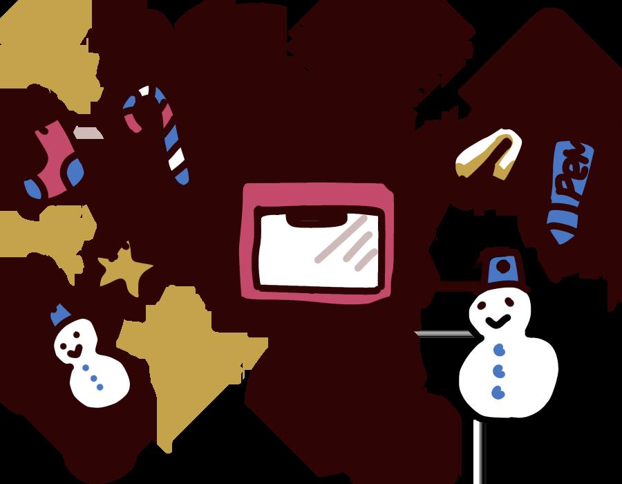 手作りクリスマスオーナメント
