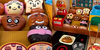 アンパンマンのパンこうじょうのおもちゃ、頑丈安全です。